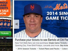Bartolo Colon tickets large