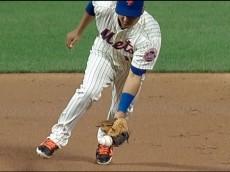 Ruben Tejada error Braves
