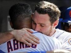 Bobby Abreu hug