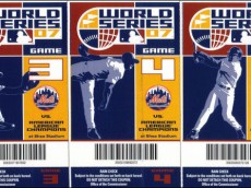 Mets 2007 World Series Tickets