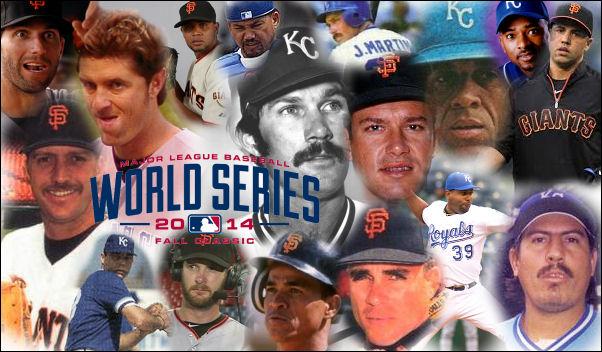2014 World Series Giants Royals