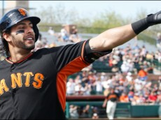 Michael Morse Giants points