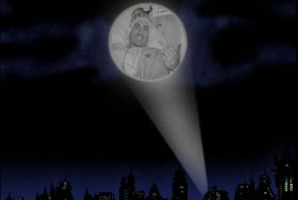 Matt Harvey Bat Signal
