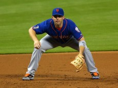 MIAMI, FL - SEPTEMBER 03:  David Wright #5 of the New York Mets looks on during a game against the Miami Marlins at Marlins Park on September 3, 2014 in Miami, Florida.  (Photo by Mike Ehrmann/Getty Images)