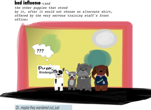 Puppy Kindergartenuh-oh