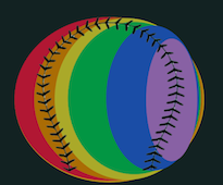 pride flag:baseball 3