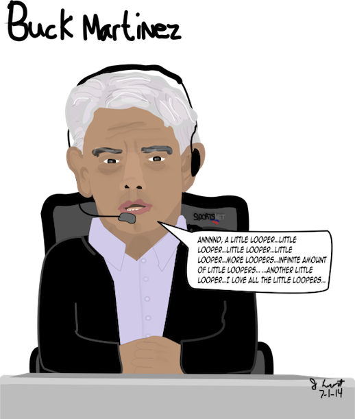 Buck Martinez / the Infinite Loop -by J. Lemont, 7-1-14