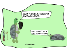 The Brewers Bar - THE END : Trippy TURTLES Comic