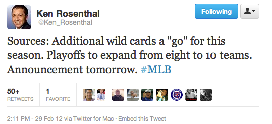 KenRosenthal_MLB_Playoff_tweet