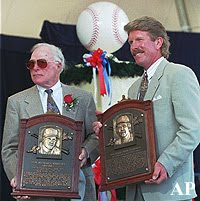 Richie Ashburn, Mike Schmidt Hall of Fame