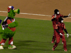 Phillie_Phanatic_and_Jabbawockeez