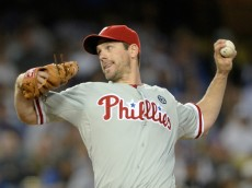 Cliff Lee was dominant against the Dodgers in a 7-0 win on April 21, 2014. Photo: Getty Images