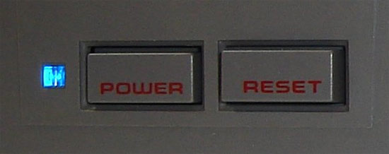 NES reset button