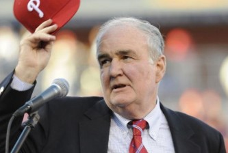 Phillies chairman David Montgomery