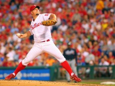 Joe Blanton with the Phillies in 2012. Photo credit: Rich Schultz/Getty Images North America