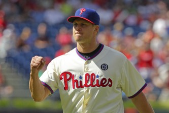 Phillies closer Jonathan Papelbon in 2014. Hunter Martin/Getty Images North America