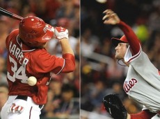 Cole Hamels and Bryce Harper is ranked among the top batter-pitcher rivalries in baseball.
