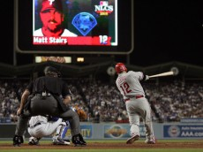 """Matt Stairs launches one into the night!"""