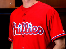 2016 Phillies Red Alternate Jersey