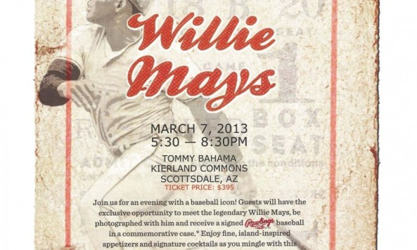 Tommy Bahama Presents Willie Mays - Event Ticket-1