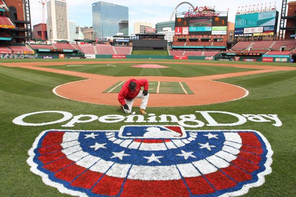 2014 St Louis Cardinals Opening Day Guide Cards Diaspora