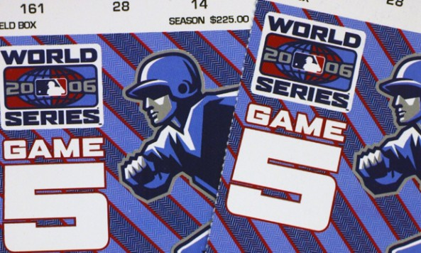 2006 World Series Tickets