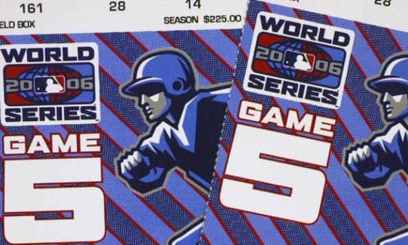 2006 World Series Tickets
