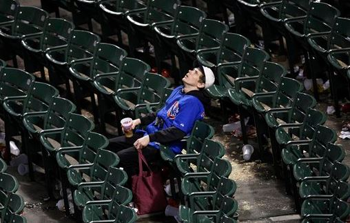 Sad Cubs Fan