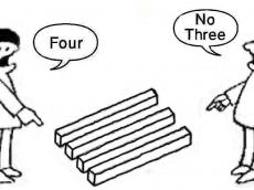 FOUR NO THREE