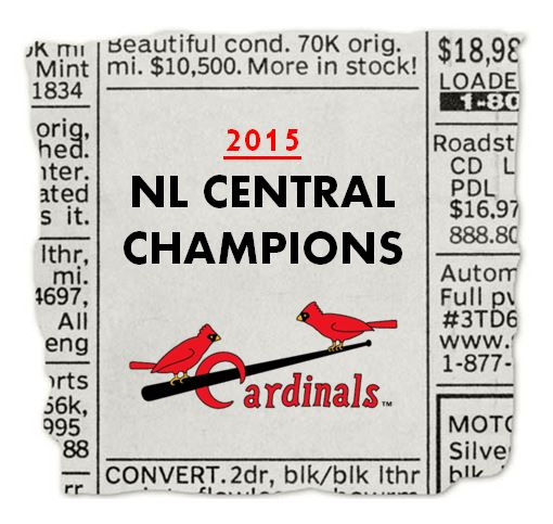NL CENTRAL CHAMPS