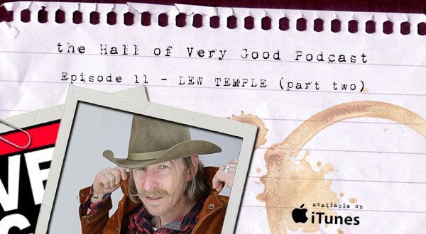 podcast - lew temple part two