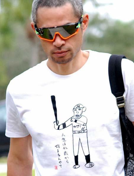 ichiro suzuki shirt