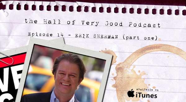podcast - erik sherman part one