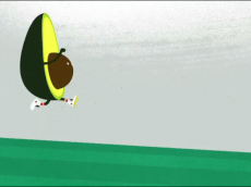 avocado running