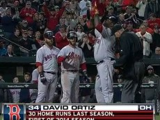 David Ortiz HR 2014-04-02