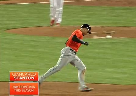 Giancarlo Stanton HR 2014-04-12