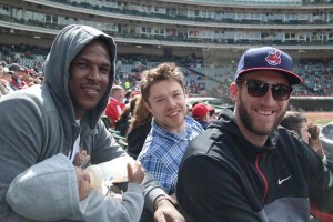 Cavs At Indians (Courtney Schilling, Cleveland Indians)
