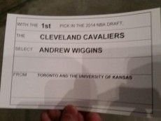 WIGGINS DRAFT CARD