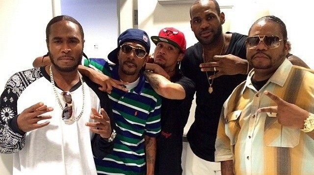 lebron and bone thugs