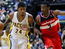 NBA: Washington Wizards at Indiana Pacers