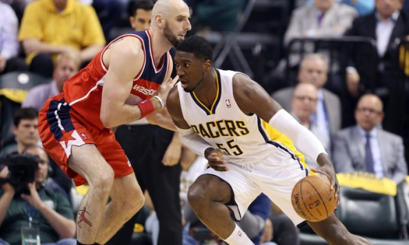 NBA: Playoffs-Washington Wizards at Indiana Pacers
