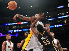 NBA: Indiana Pacers at Los Angeles Lakers