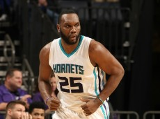 CHARLOTTE, NC - DECEMBER 17:  Al Jefferson #25 of the Charlotte Hornets runs up the court against the Phoenix Suns during the game at the Time Warner Cable Arena on December 17, 2014 in Charlotte, North Carolina. NOTE TO USER: User expressly acknowledges and agrees that, by downloading and or using this photograph, User is consenting to the terms and conditions of the Getty Images License Agreement.  Mandatory Copyright Notice:  Copyright 2014 NBAE (Photo by Kent Smith/NBAE via Getty Images)