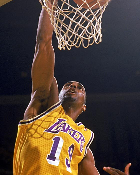 Laker From The Past Tony Campbell Purple And Gold Blog