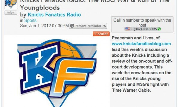 Knicks Fanatics Radio The MSG War