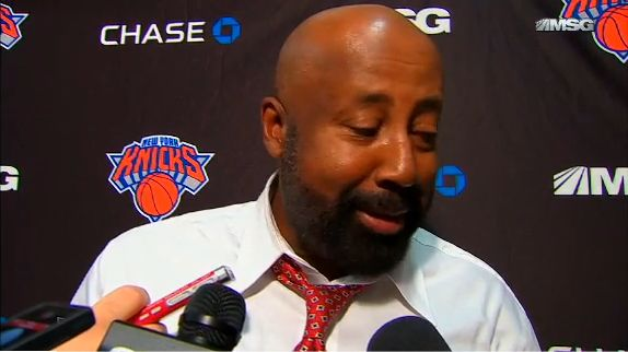 Mike Woodson Interview