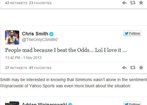 Chris Smith Twitter