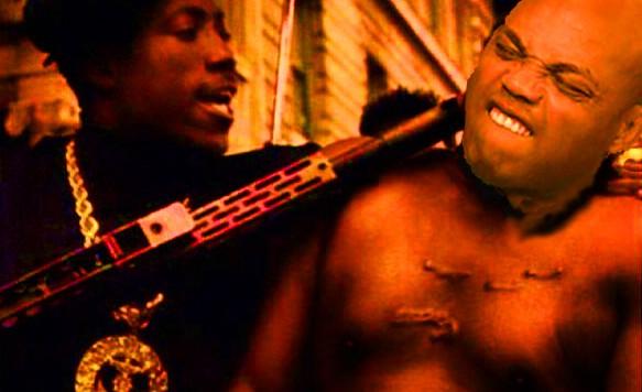 Nino Brown With Gun On Charles3