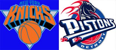 Knicks v. Pistons