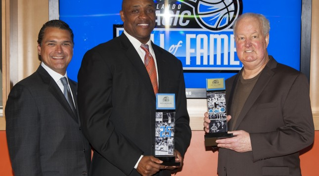 Orlando Magic Hall of Fame Induction Press Conference